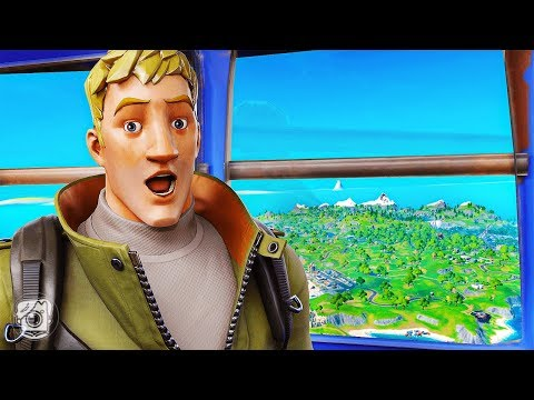 HOW THE BATTLE BUS FOUND A NEW ISLAND... *CHAPTER 2* (A Fortnite Short Film)