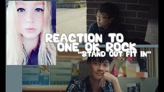 "REACTION TO ONE OK ROCK ""STAND OUT FIT IN"" MUSIC VIDEO/JAPAN"