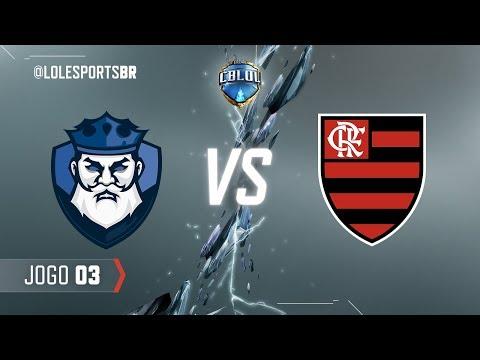 CBLoL 2018: CNB x Flamengo (Jogo 3) | Fase de Pontos - 2ª Etapa