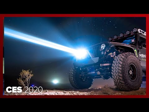 WOW! The Baja Designs Laser Lights Turn Night Into Day For Extreme Off-roading