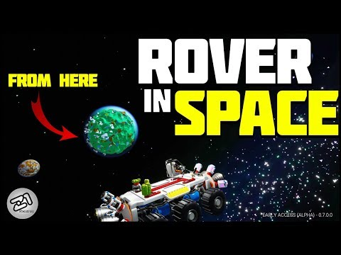 I Jumped A Rover Into SPACE............... Astroneer Rover Update 7.0 | Z1 Gaming