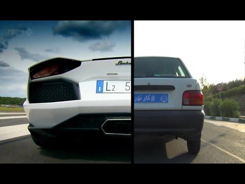 Lamborghini Aventador Top Gear Richard Hammond Vs Kia Pride Cartour