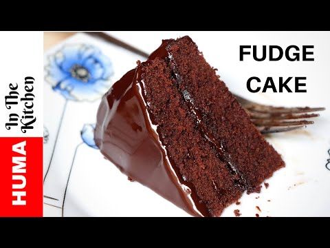 Chocolate Fudge Cake Without Oven By (HUMA IN THE KITCHEN)