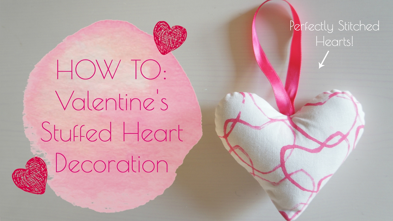 6 VALENTINES DAY PINK STRING HEART DECORATIONS
