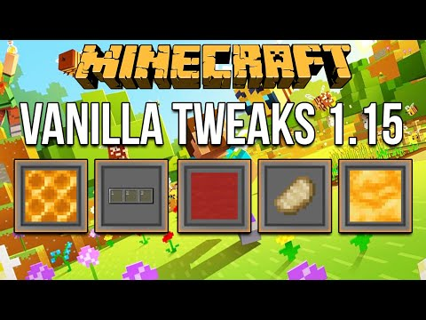 minecraft-1.15-vanilla-tweaks-(modular-resource-pack-&-data-packs)