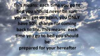 In Islam What happens when you sleep ?