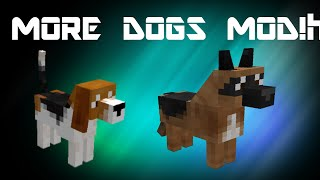 MINECRAFT DOGGYSTYLE MOD REVIEW! | Over 25 Dogs! | Labradors, Pugs, and MORE!