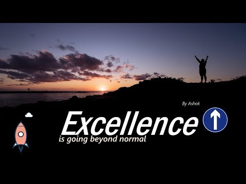 Excellence beyond normal by Ashok - Neon Family Church
