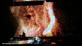 Depeche Mode Should be higher - PROJECTIONS - Milano stadio San Siro 18/07/2013