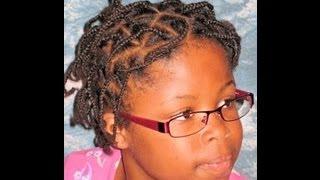 Rastazöpfe ohne kunsthaar afrodeutsches Mädchen - Individual braids for a afro-german girl