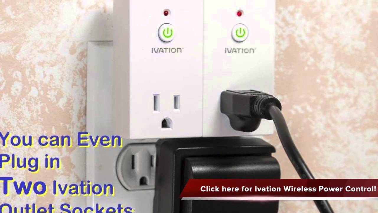 Ivation Programmable Wireless Remote Control 110V AC Plug in ... on plug in outlet adapter, electrical outlet switch, power outlet switch, electric outlet switch, 220 outlet switch, outlet with switch, plug into outlet, plug in electrical outlet, add on outlet switch, plug in wall outlet, wireless outlet switch, 3 prong outlet switch, 110v outlet switch, plug wiring diagram, plug socket, plug with remote, triple outlet switch,