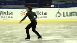 11 Keiji TANAKA (JPN) - ISU JGP Czech Skate 2013 Junior Men Short P...