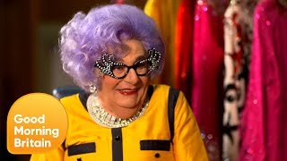 """I Am Prince George's Godmother!"" Says Dame Edna 