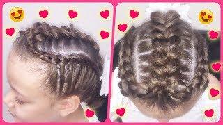TrenzaTriple - Triple Braid / Peinado para niñas -Hairstyle for Girls