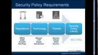 Security Policies Made Easy from Information Shield