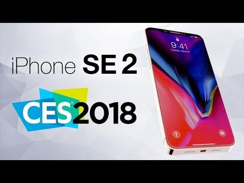 iPhone SE 2, Face ID Для Android, Инновации intel и многое другое с выставки CES 2018!