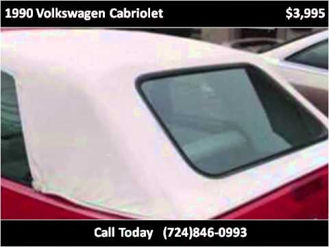 1990 Volkswagen Cabriolet available from Oak Hill Motors Inc.