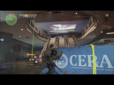 The Division Beta gameplay (CO OP) Part 1