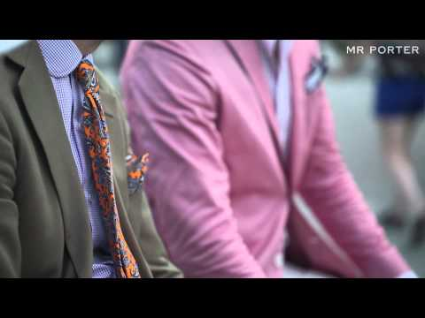Pitti Uomo: The Details -- What They Wore --  MR PORTER