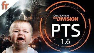 The Division PTS MAJ 1.6 dlc baroud d