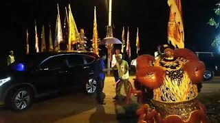 Pagoh. Program Bersama Masyarakat Cina di Tokong Kampong Raja, Pagoh.