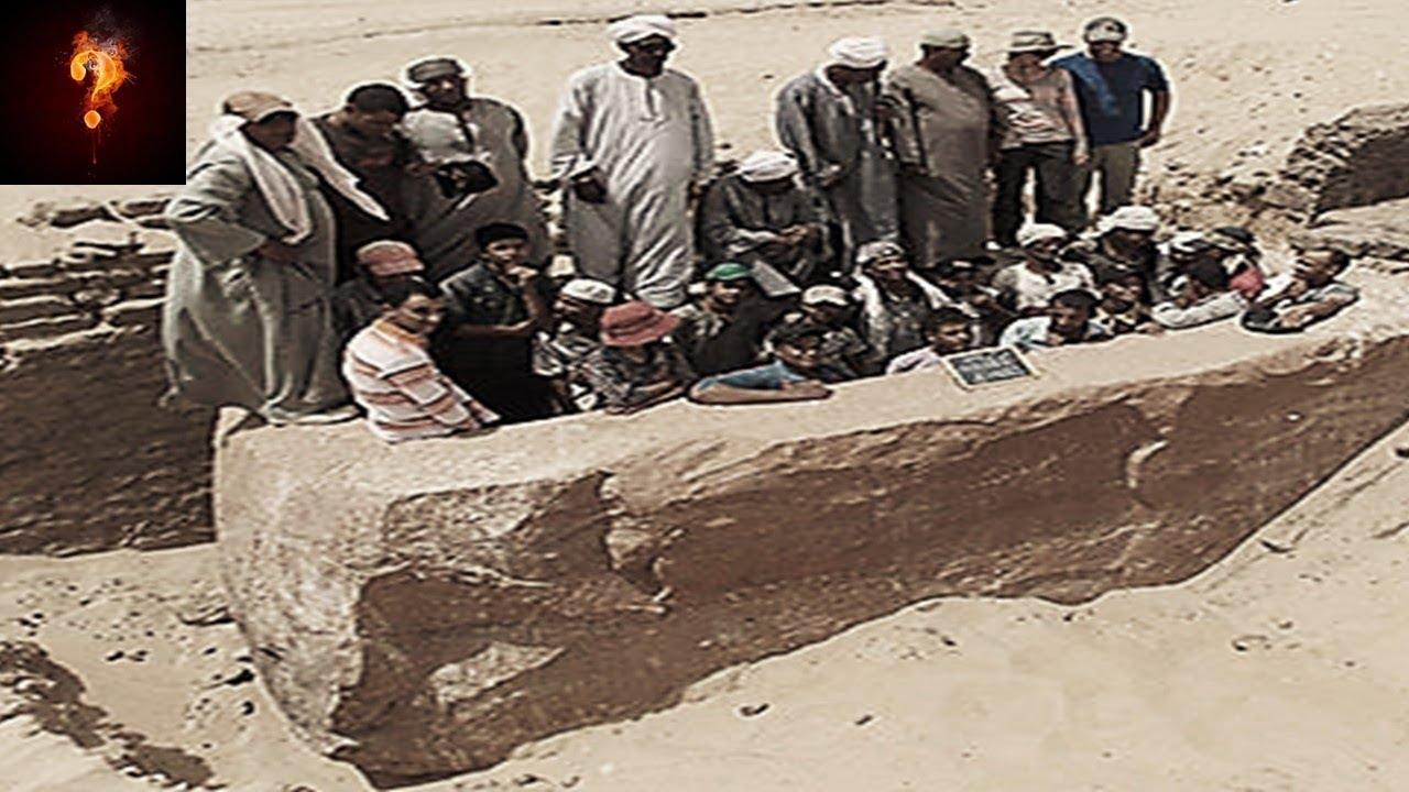 """🧍 60-Ton """"Giants Sarcophagus"""" Found In Egypt? 🤒"""