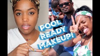 MY GO TO POOL DAY MAKEUP | Ellarie