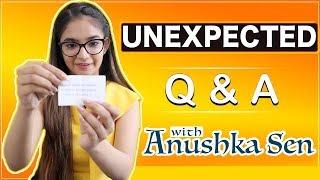 Anushka Sen Answering Unexpected Questions   Telly Chaska