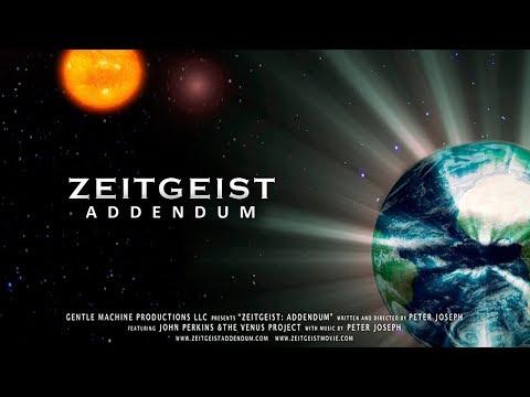 Zeitgeist Addendum Türkçe Dublaj  (Stüdyo Seslendirme)