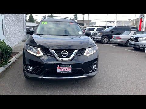 2016 Nissan Rogue Portland, Beaverton, Vancouver, Gresham, Hillsboro, OR 2038882