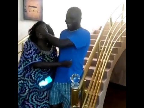 Jenifa Star, Funke Akindele Throws A Surprise Birthday Party For Her Brother Inside Her Mansion