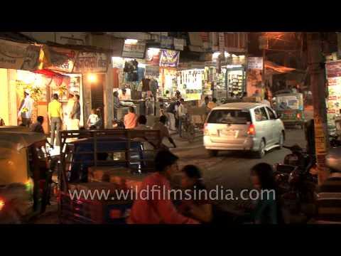Night Market in Varanasi, Uttar Pradesh