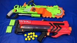Toy Weapons Box of Toys Nerf Guns Toy Guns Zombie Strike Rival