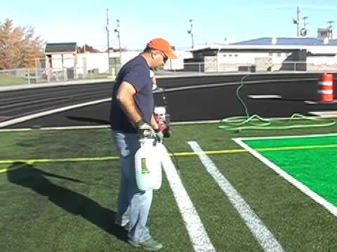 Removable Field Marking Paint For Synthetic Turf Sports Fields