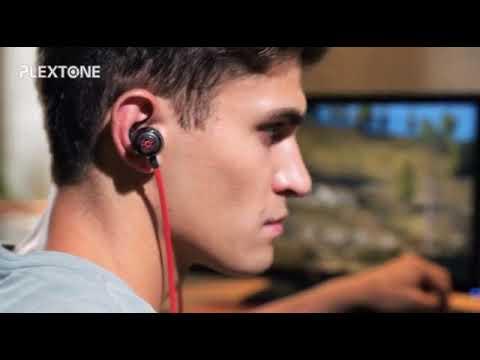 Bộ tai nghe game G50 và DAC plextone, chơi PUBG và freefire cực phê