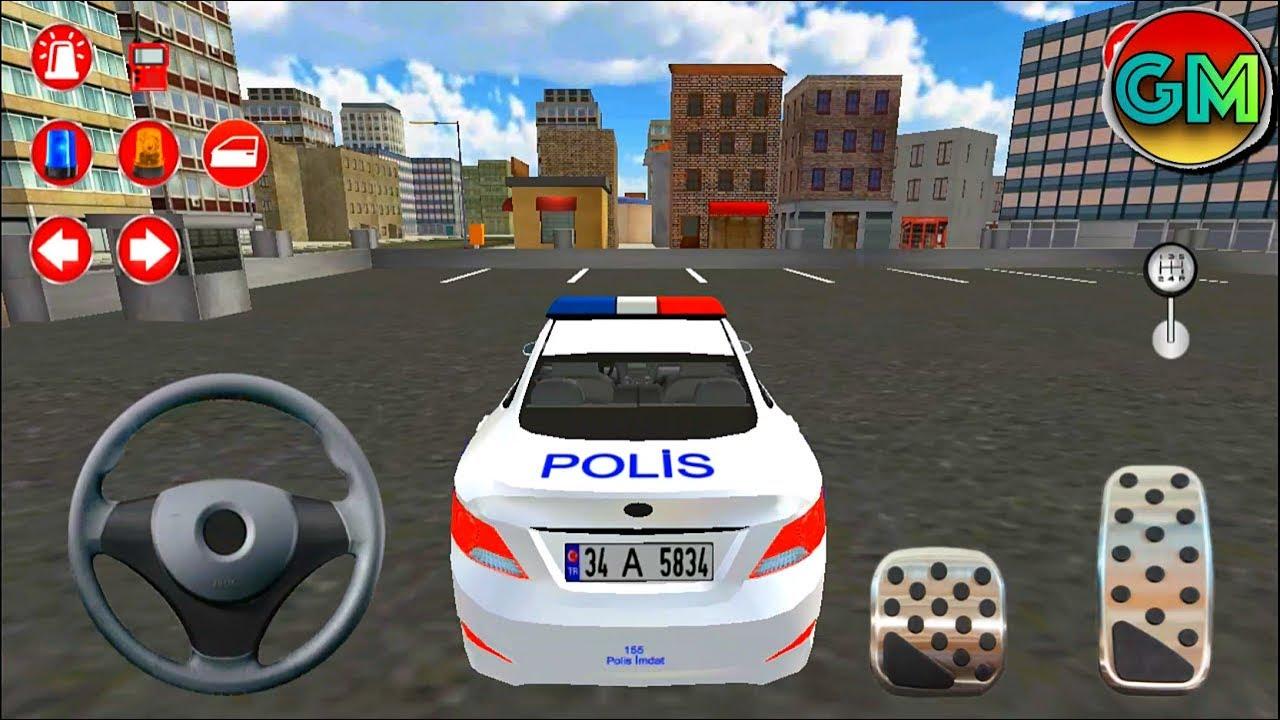 Real Police Car Driving Simulator 3d Police Patrolling