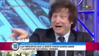 Javier Milei la rompe en Peligro Sin Codificar- 29/09/18