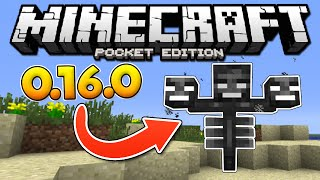 How to Spawn a WITHER in Minecraft Pocket Edition 0.16.0