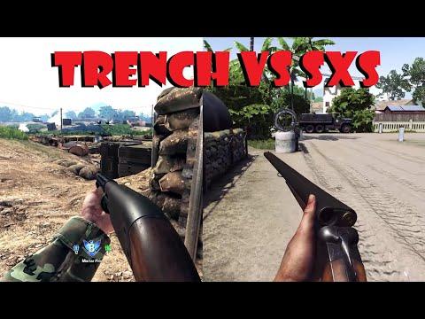 RISING STORM 2: VIETNAM. Shotgun Vs Shotgun. Trench vs SXS |