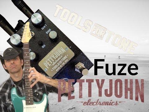 PETTYJOHN ELECTRONICS FUZE- Fuzz/Distortion pedal