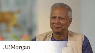 Muhammad Yunus On The Value of Social Business | J.P. Morgan