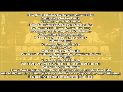 Farruko Ft. J Alvarez Y Jory - Hola Beba (Official Remix)(Lyrics)
