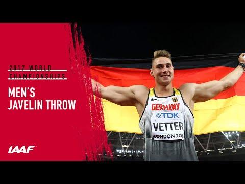 Men's Javelin Final | IAAF World Championships London 2017