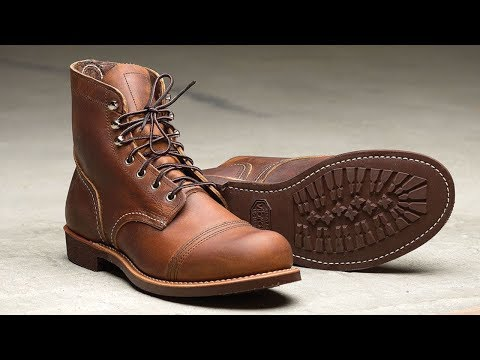 Разбираем на части Red Wing 8111 Iron Ranger \ Disassembling Iron Ranger boots Red Wing 8111