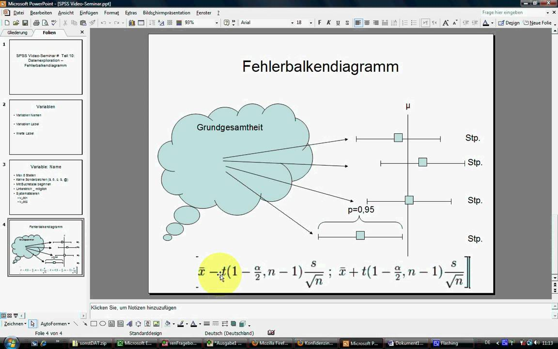 SPSS Video-Seminar # Teil 10: Datenexploration ...