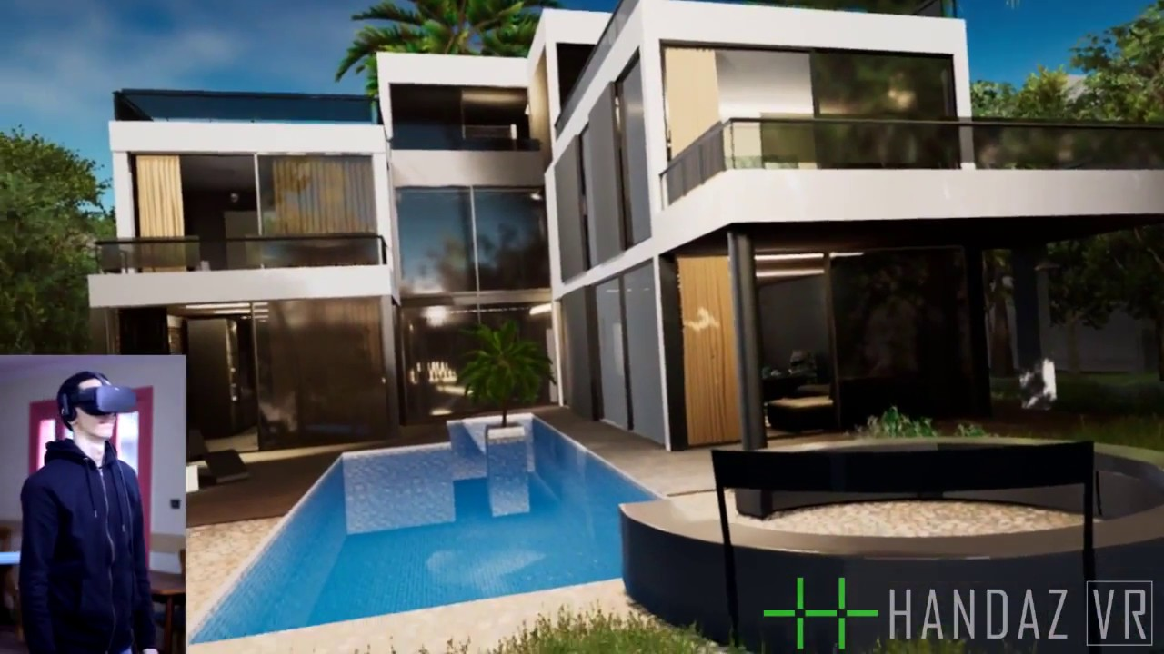 Architecture Real-time Virtual Reality Experience - Unreal Engine 4 Archviz  by Handaz VR