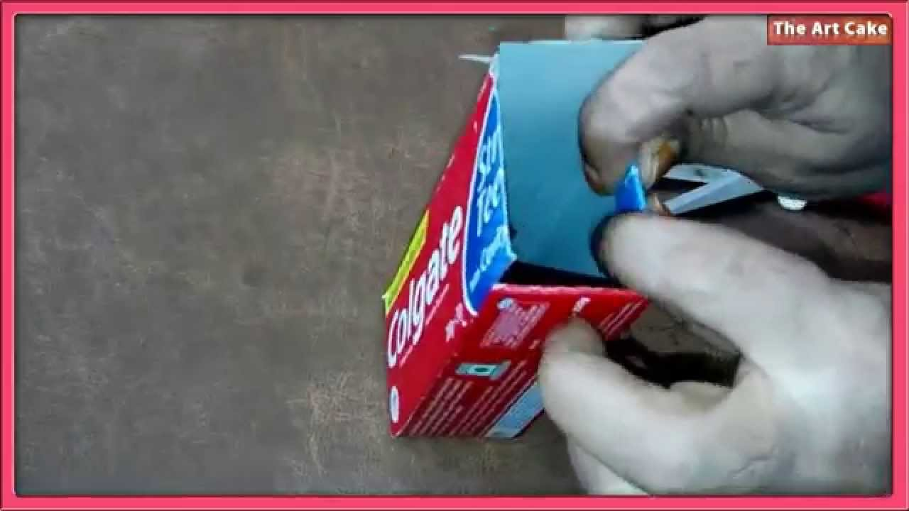 Best from waste how to make a pen holder easy craft for for Waste material video