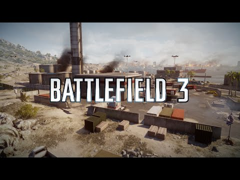 Battlefield 3 - Quick Rush Game - Kharg Island - 1440p - 60fps