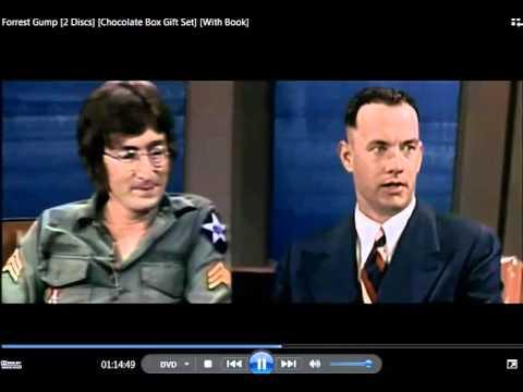 Forrest Gump and John Lennon