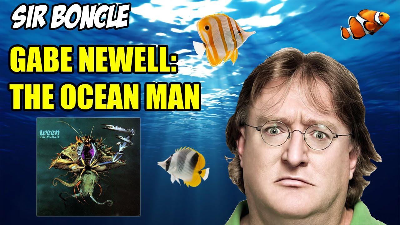 maxresdefault gabe newell the ocean man (2016 meme) youtube